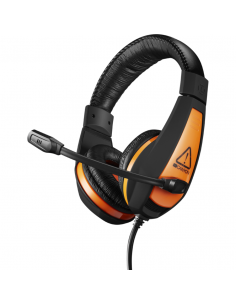 Casti Gaming Canyon Star Raider Black Orange, CND-SGHS1A