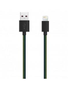 Cablu Lightning Serioux piele ecologica compatibil Apple MFI
