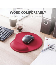 Mouse pad Trust BigFoot Mouse Pad - red