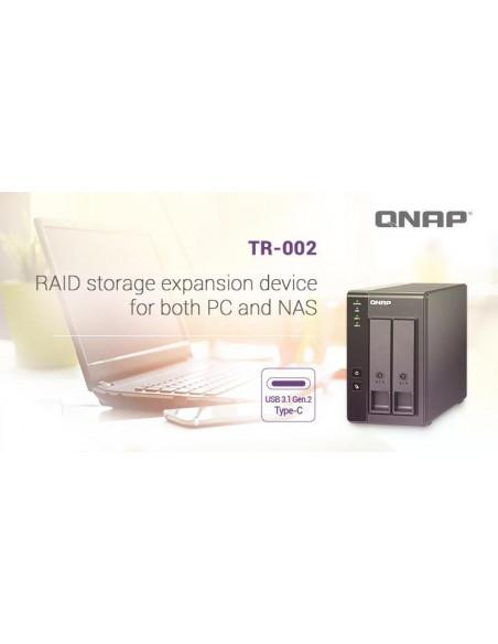 RAID USB QNAP TR-002 2-Bay 2.5/3.5 SATA 6Gbps HDD (neincluse)