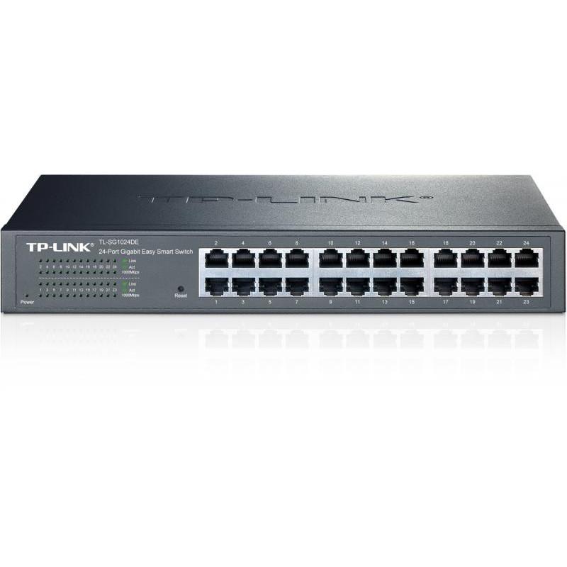 Switch TP-Link TL-SG1024DE 24 porturi Gigabit 1U 19 Rackmount