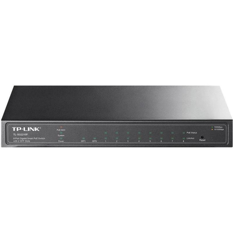 Switch TP-Link TL-SG2210P 8 porturi Gigabit PoE IEEE 802.3af