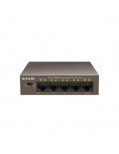 Switch TENDA TEF1105P-4-63W 5-Port 10/100Mbps Desktop PoE