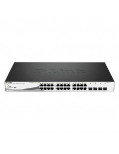 D-link 28-Port Gigabit PoE+ Smart Switch including 4 SFP Ports