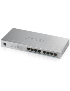 Zyxel GS1008-HP 8 Port Gigabit PoE+ unmanaged desktop Switch 8