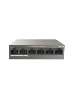 Switch TENDA TEF1106P-4-63W 6-Port 10/100Mbps Desktop4 POE + 2