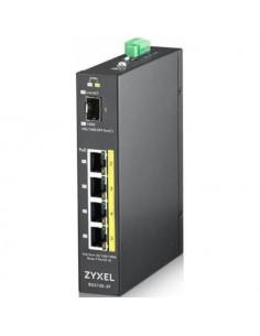 Zyxel RGS100-5P-ZZ0101F 5-port GbE unmanaged PoE Switch 4 ports