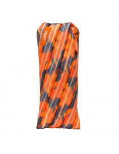 Penar cu fermoar, ZIPIT Camouflage - portocaliu cu maro