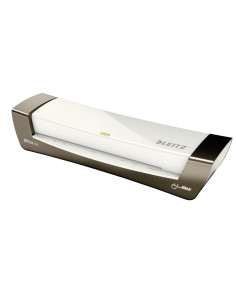 Laminator LEITZ iLAM Office, A4, kit folii laminare inclus, alb