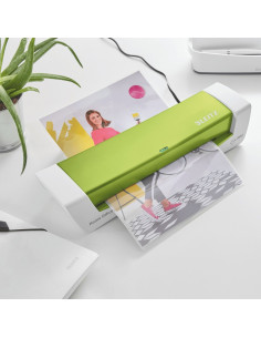 Laminator LEITZ iLAM Home Office, A4, kit folii laminare