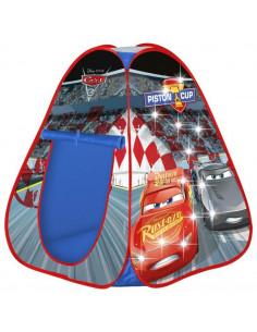 Cort de joaca John Cars cu lumini 85x85x95 cm