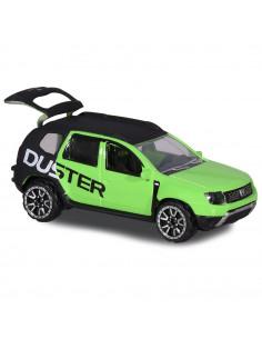 Masina Majorette Dacia Duster negru cu verde