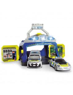 Pista de masini Dickie Toys Command Unit cu 2 masini