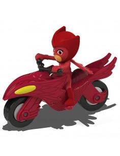Motocicleta Dickie Toys Eroi in Pijama Moon Rover cu figurina