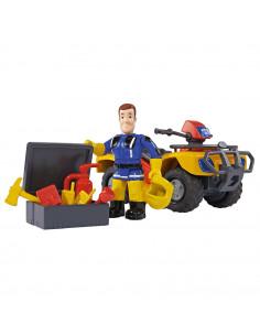 ATV Simba Fireman Sam, Sam Mercury Quad cu figurina Sam si
