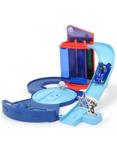 Pista de masini Dickie Toys Eroi in Pijama Control Centre cu 1