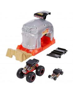 Pista de masini Hot Wheels by Mattel Monster Truck Bone Shaker