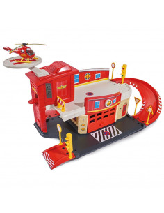 Pista de masini Dickie Toys Fireman Sam Fire Rescue Center cu