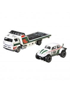 Camion Hot Wheels by Mattel Car Culture Wide Open cu masina