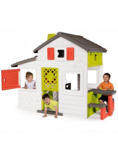 Casuta pentru copii Smoby Friends Playhouse cu bucatarie