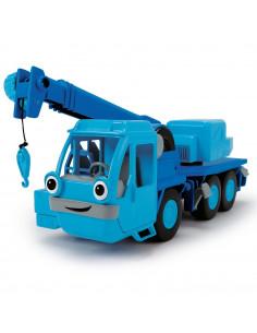 Camion Dickie Toys Bob Constructorul Action Team Lofty cu 1