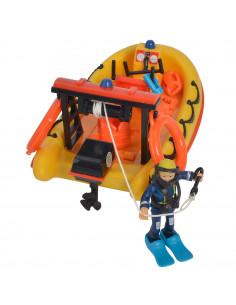 Barca Simba Fireman Sam Neptune cu figurina si accesorii