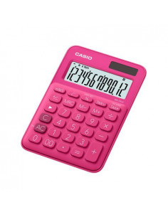 Calculator de birou Casio MS-20UC, 12 digits, rosu