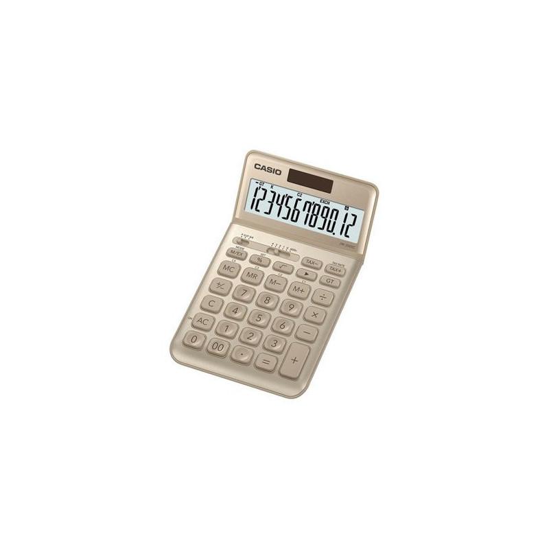 Calculator de birou Casio JW-200SC, 12 digits, auriu