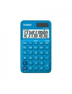 Calculator portabil Casio SL-310UC, 10 digits, albastru