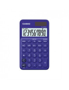 Calculator portabil Casio SL-310UC, 10 digits, violet