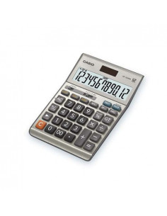 Calculator de birou Casio DF-120BM, 12 digits, argintiu