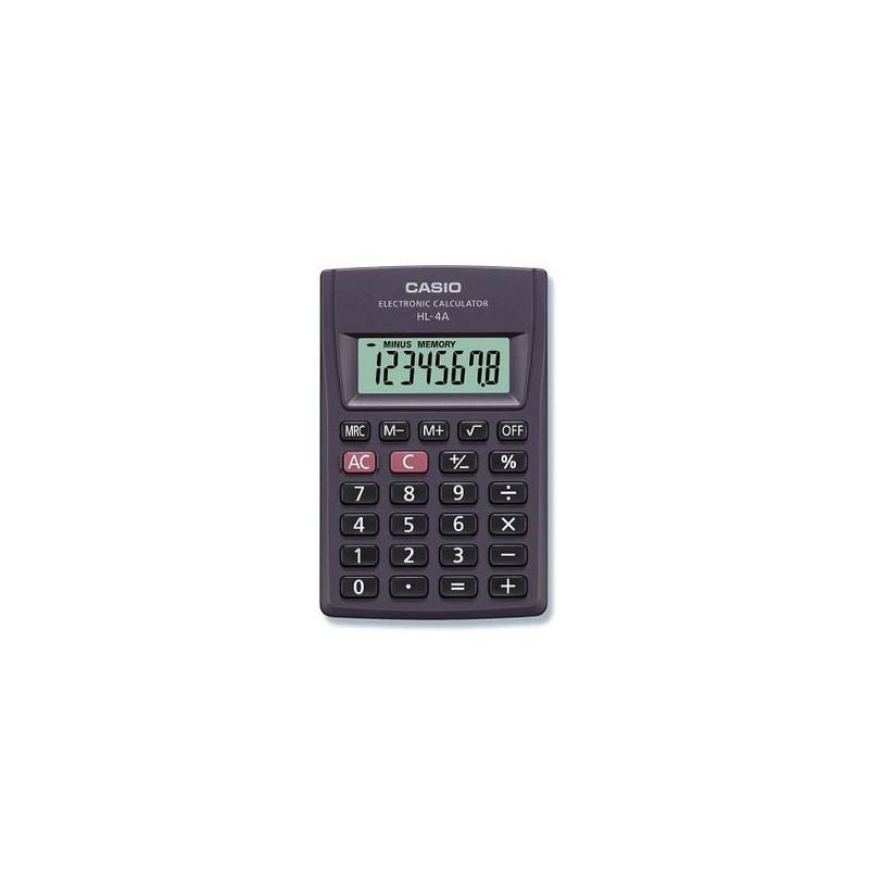 Calculator de buzunar Casio HL-4A, 8 digits