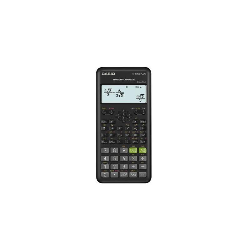 Calculator stiintific Casio FX-82ES Plus, 252 functii, negru