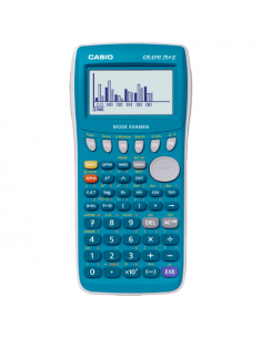Calculator stiintific Casio Graph 25+E, 400 de functii, albastru