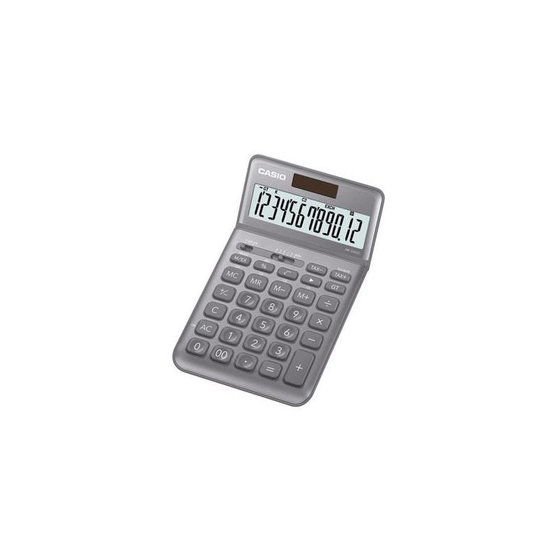 Calculator de birou Casio JW-200SC, 12 digits, argintiu