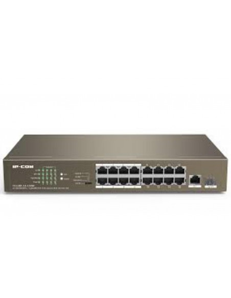 IP-COM 16-Port 10/100Mbps + 2 Gigabit + 1 SFP 16 * 10/100 Mbps