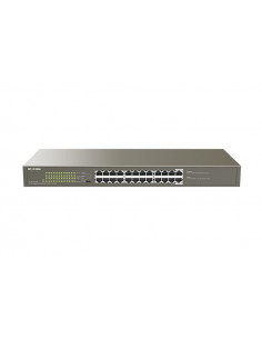 IP-COM 24-Port Gigabit Ethernet Switch with 24-Port PoE