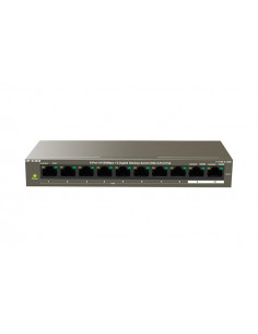 IP-COM 8-Port10/100Mbps+2 Gigabit Desktop Switch With 8-Port