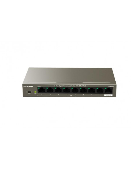 Switch IP-COM G1109P-8-102W 9-Port 10/100Mbps Desktop PoE