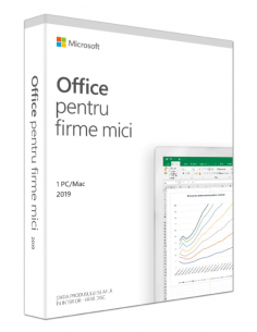 Licenta retail Microsoft Office 2019 Home and Business Romanian