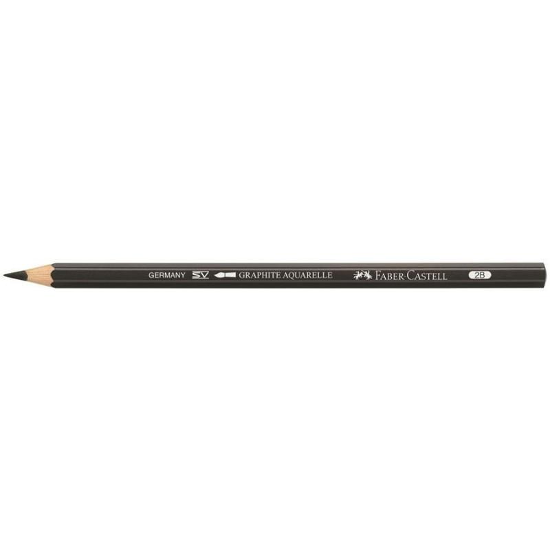 Creion Graphite Aquarelle Faber-Castell - 2B